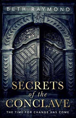 Cover design of Secrets of the Conclave by Beth Raymond
