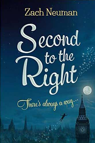 Cover design of Second to the Right (The Neverland Saga Book 1) by Zack Neuman